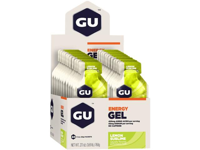 GU Energy Gel Box 24x32g, Lemon Sublime (2019) | Energy gels